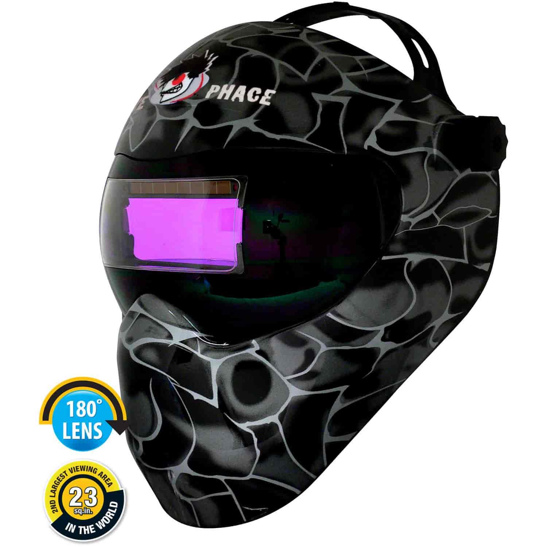 Custom Welding Helmets >> Save Phace 3010059 Efp Gen X Series Welding Helmet Custom Black Asp