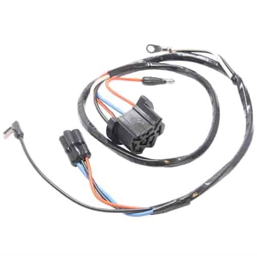 scott drake 1138  wiper motor wiring harness 1965