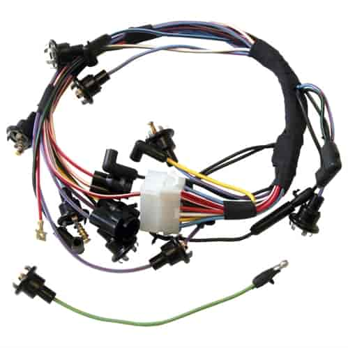 Scott Drake 2134: Instrument Cluster Wiring Harness 1967 Ford Mustang | JEGSJegs