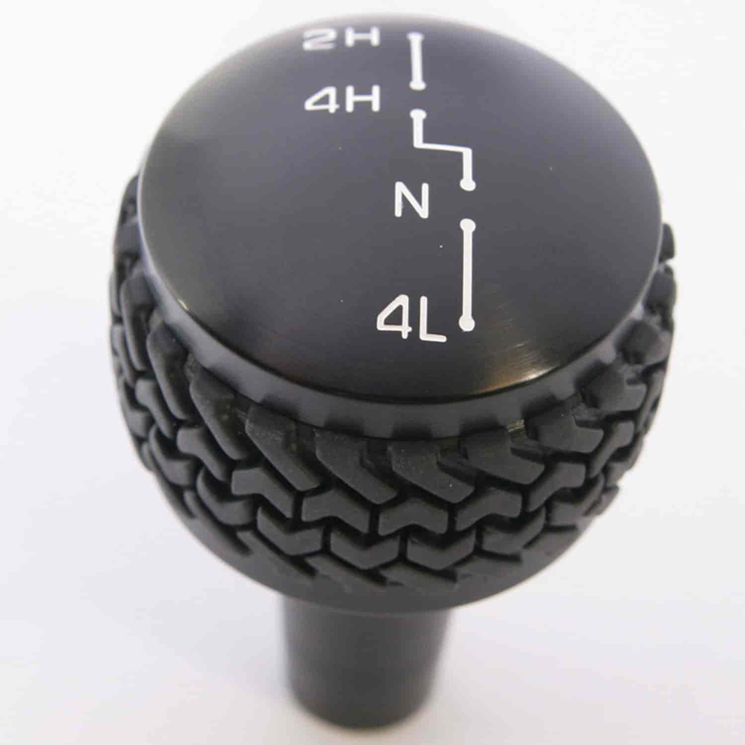 Drake Off Road JP-180011-BK - Drake Jeep Shift Knobs