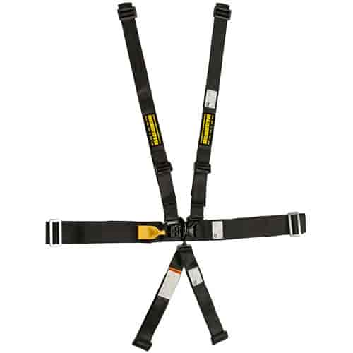 Schroth Racing 76550H - Schroth SFI-16.1 LatchLink III 5-Point Single Sub Harnesses