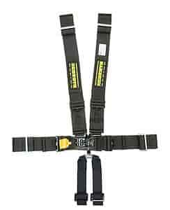 Schroth Racing 71561D-NC - Schroth SFI-16.5 LatchLink III 6-Point T-Bar Sub Harnesses