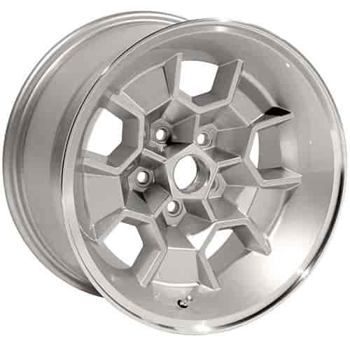 "Year One HW1795SLV: Cast Aluminum Honeycomb Wheel 17"" x 9 ..."