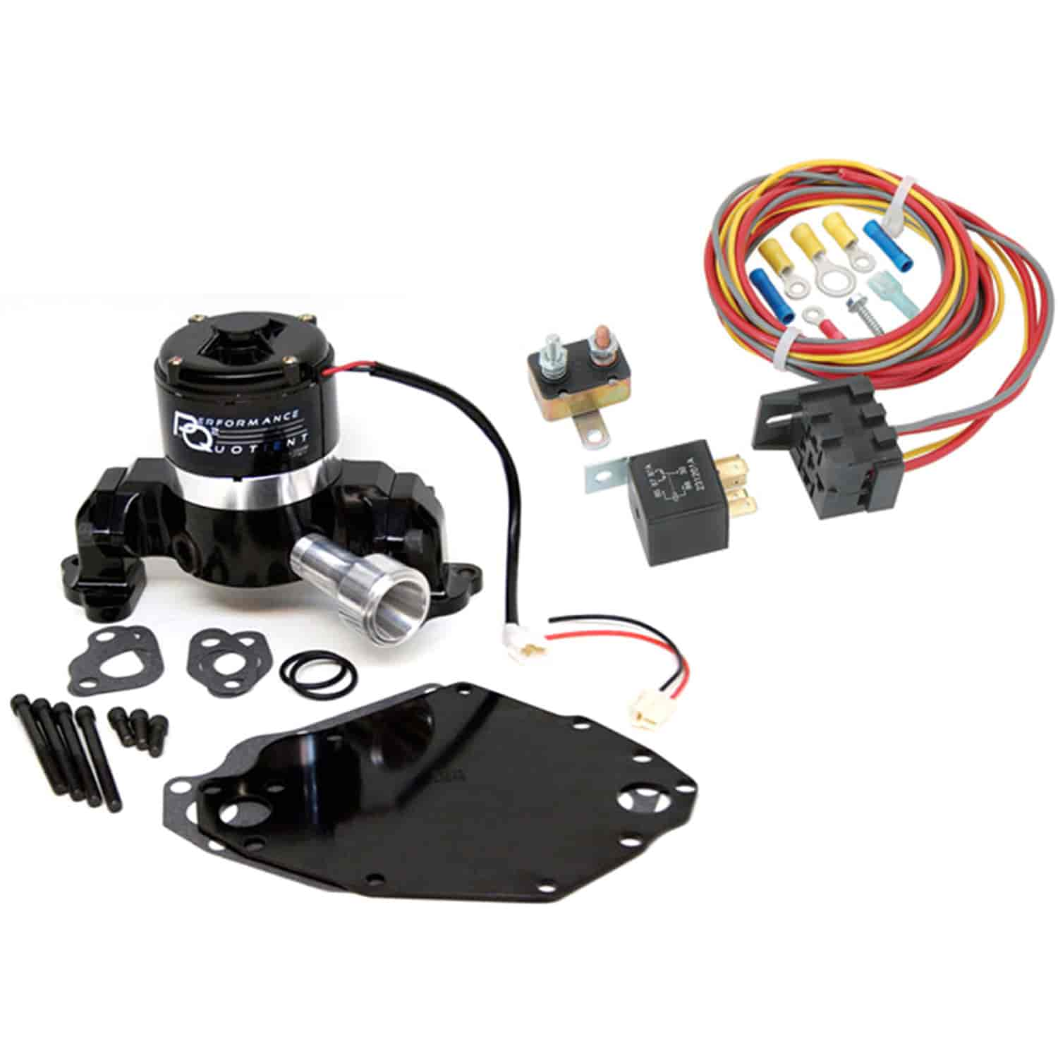 Prw 4435117k Electric Water Pump Relay Kit Ford 351c Right Inlet Wiring
