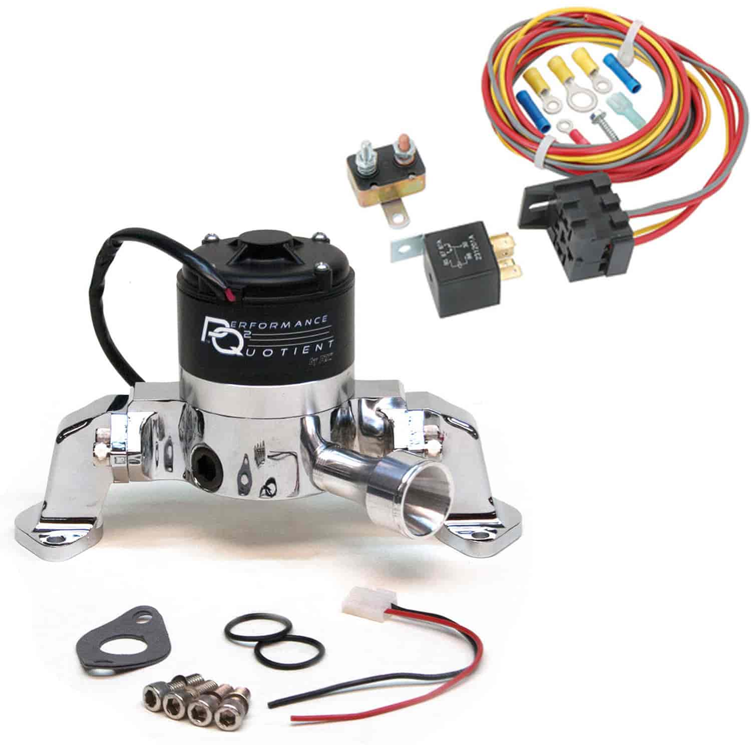 Prw 4445409k Electric Water Pump Relay Kit Bbc 396 454 Right Wiring Harness Share This Product Easy