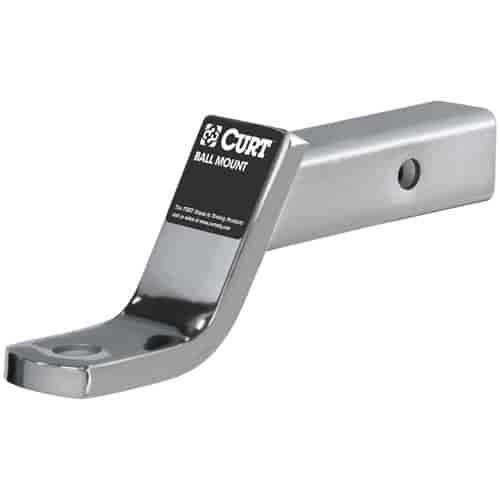 Curt 45296 - Curt Chrome-Plated Ball Mounts