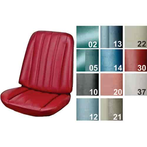 Peachy Pui Bucket Seat Cover 1966 Chevelle El Camino Spiritservingveterans Wood Chair Design Ideas Spiritservingveteransorg