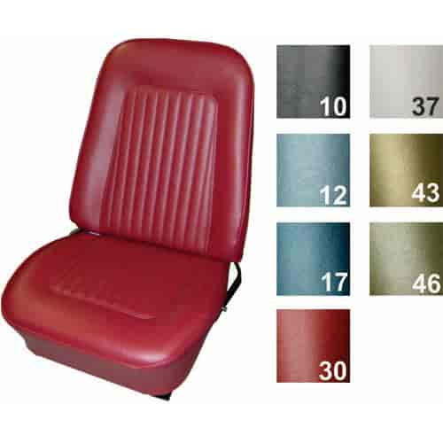Tremendous Pui Standard Bucket Seat Cover 1967 68 Camaro Onthecornerstone Fun Painted Chair Ideas Images Onthecornerstoneorg