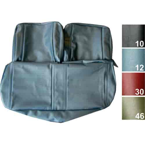 Pui 67xs22bs Bench Seat Cover 1967 Chevy Ii Nova Jegs
