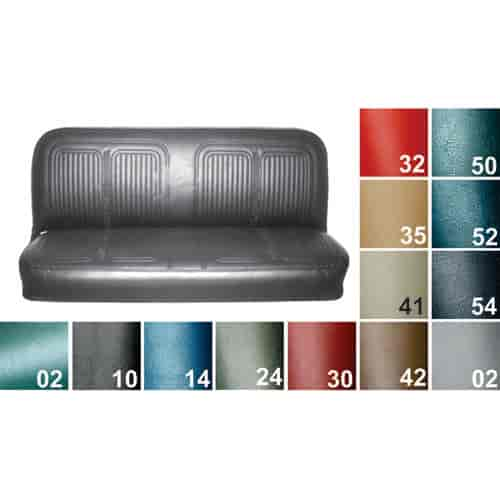 PUI 69TS50B: Seat Cover 1969 70 Chevy Truck | JEGS