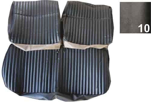 PUI Pre-Assembled Bench Seat Cover 1970 Chevy Monte Carlo Black