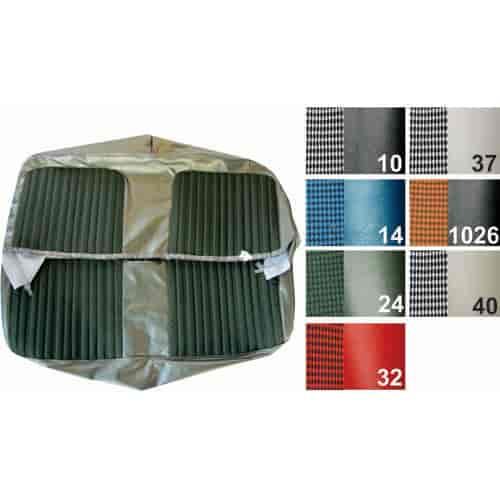 PUI 71TSD10B: Seat Cover 1971 72 Chevy Cheyenne Truck | JEGS