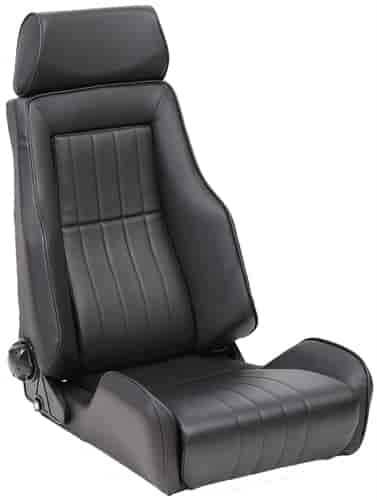 cobra seats lmshertlmbk le mans heritage racing seat jegs. Black Bedroom Furniture Sets. Home Design Ideas