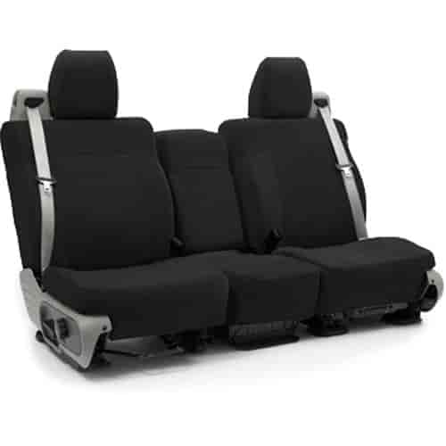 coverking suede suede custom seat covers made from soft perforated polyester for ultimate. Black Bedroom Furniture Sets. Home Design Ideas