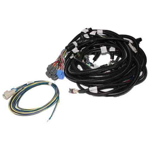 fast xfi main wiring harness gm ls1, ls2 & ls7 oxygen sensor extension harness ls7 wiring harness #9