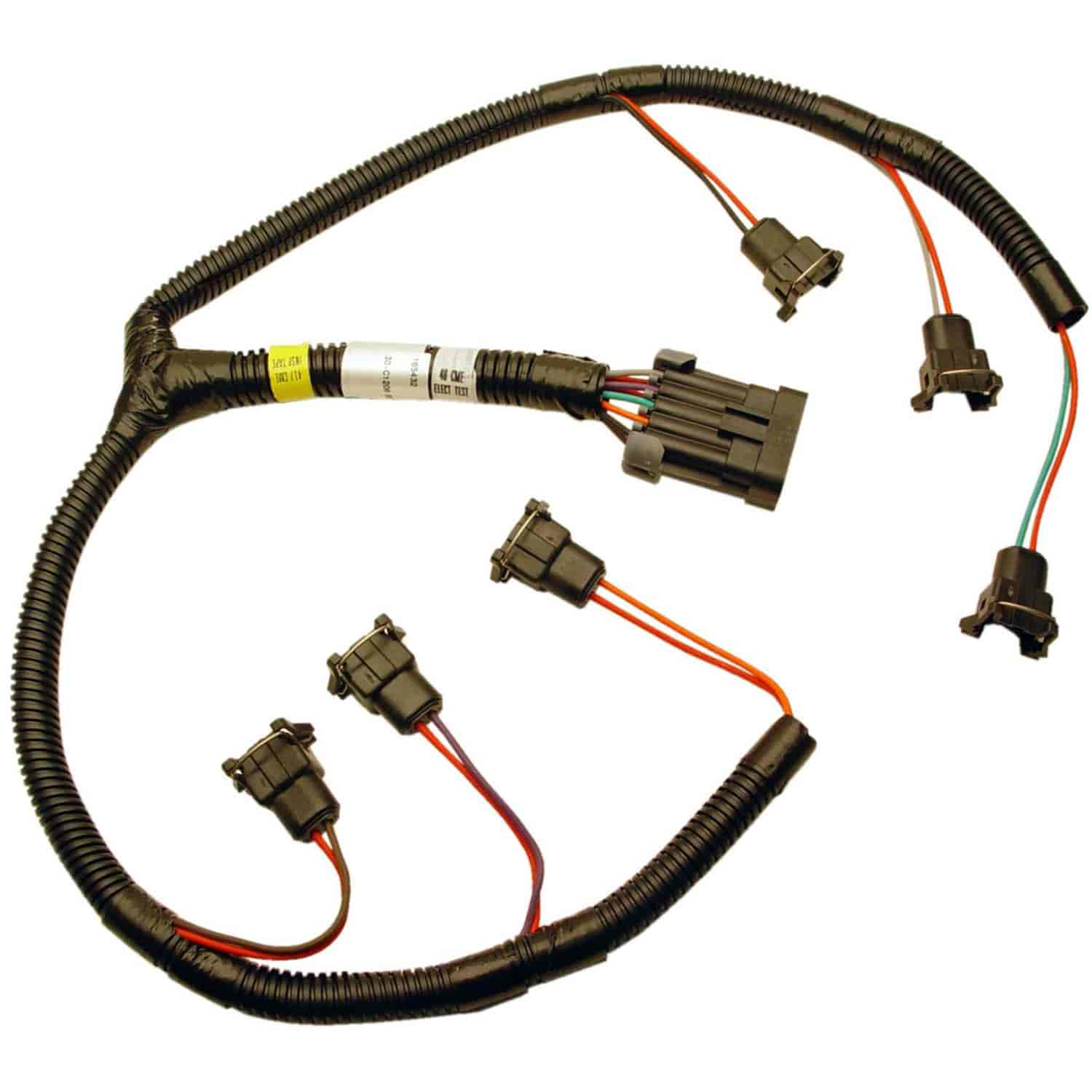 Fast 301206 Xfi Fuel Injector Harness Buick V6 Jegs Wiring