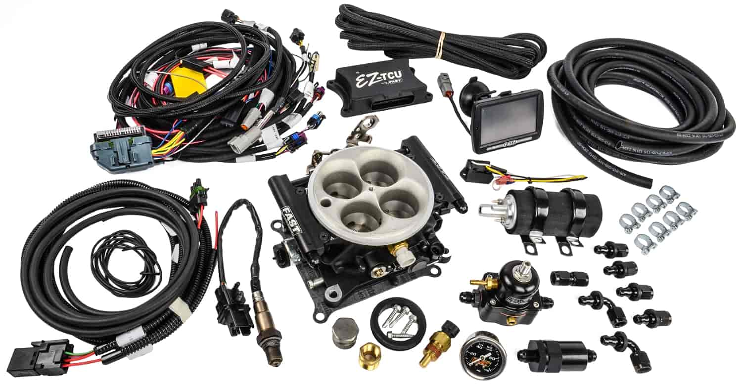 FAST EZ-EFI Self-Tuning Fuel Injection System Master Kit with Inline Fuel  Pump Kit