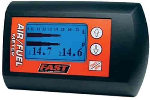 FAST 170402 Gasoline Air//Fuel Meter Wideband Data Logging Dual Sensor O2