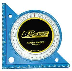 Competition Engineering 5020 - Competition Engineering Professional Angle Finder and Level