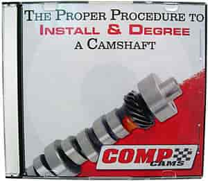 COMP Cams 190DVD - Comp Cams Cam Installation DVD