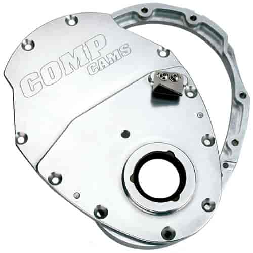 COMP Cams Two Piece Billet Aluminum Timing Chain Cover Small Block Chevy  and 4 3L V6 W/6