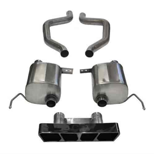 Corsa Xtreme Axle-Back Exhaust System 2015-2019 Chevy Corvette C7 Z06 &  Grand Sport 6 2L