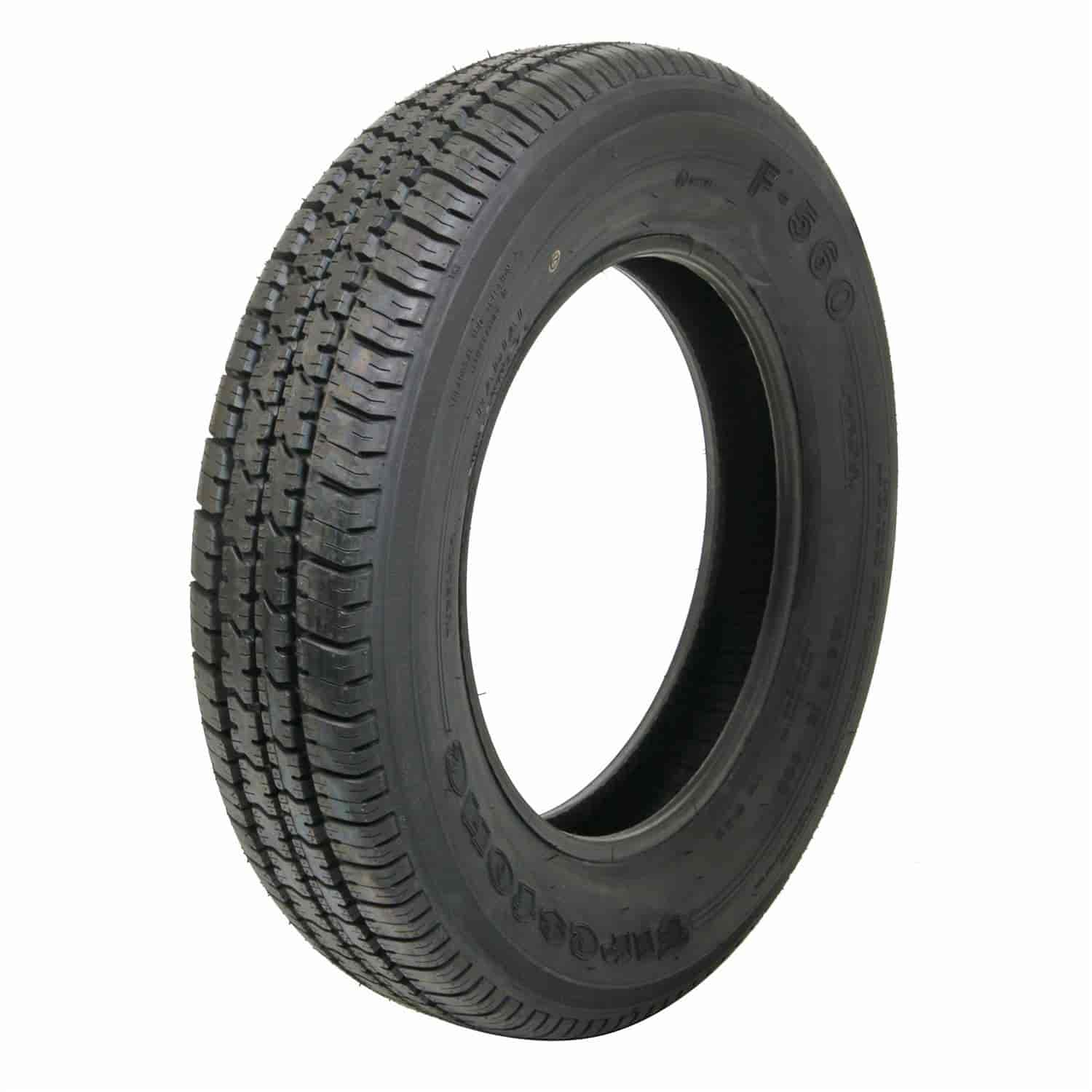 Firestone Tires Near Me >> Coker Tire 568741 Firestone Radial F560 Tire 165r15 Jegs