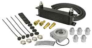 Derale 15604 - Derale Engine Oil Cooler With Sandwich Adapter Kits