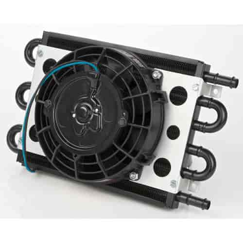 Derale 15830 - Derale Econo-Cool Remote Oil & Transmission Cooler