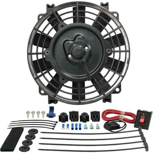 Derale 16508 - Derale Tornado Push & Pull-Style Electric Fans
