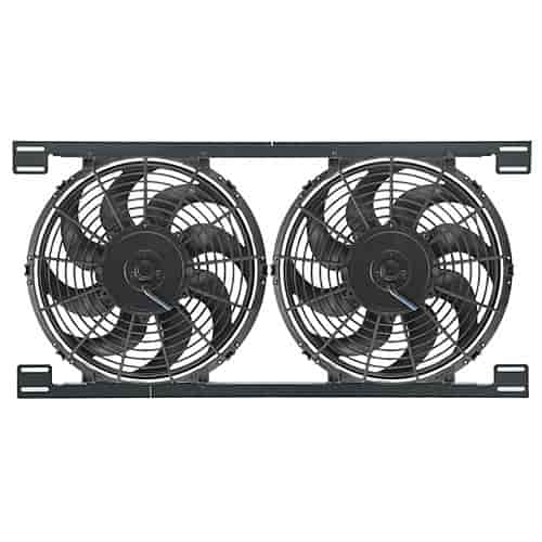 Derale 16824 - Derale Tornado Push & Pull-Style Electric Fans