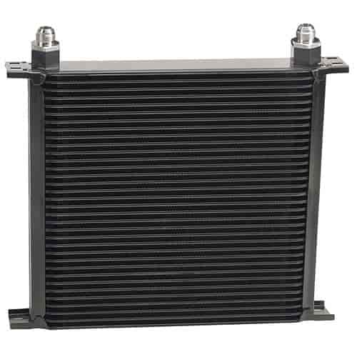 derale 53408 hp stacked plate oil cooler kit 34 row jegs
