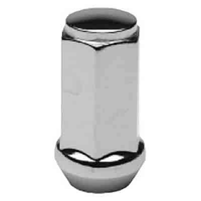 Cragar 27802B-4 - Cragar Chrome Lug Nuts