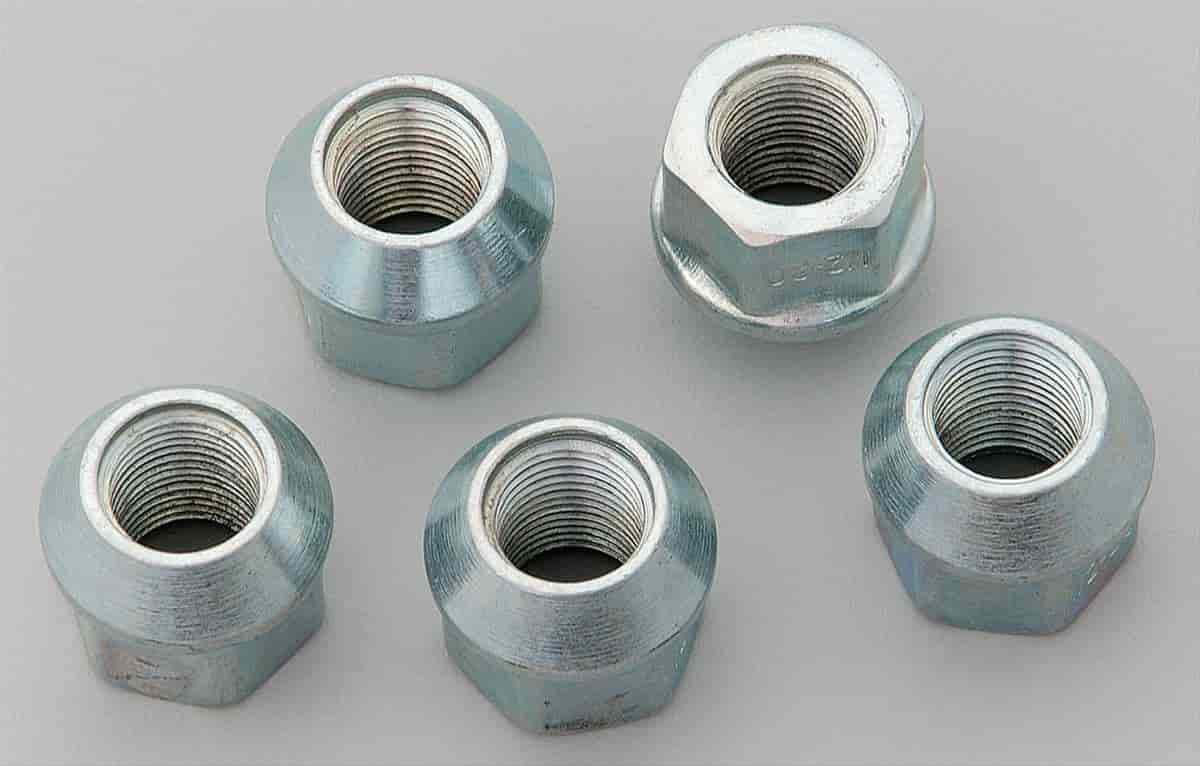 Cragar 27904-5 - Cragar Chrome Lug Nuts