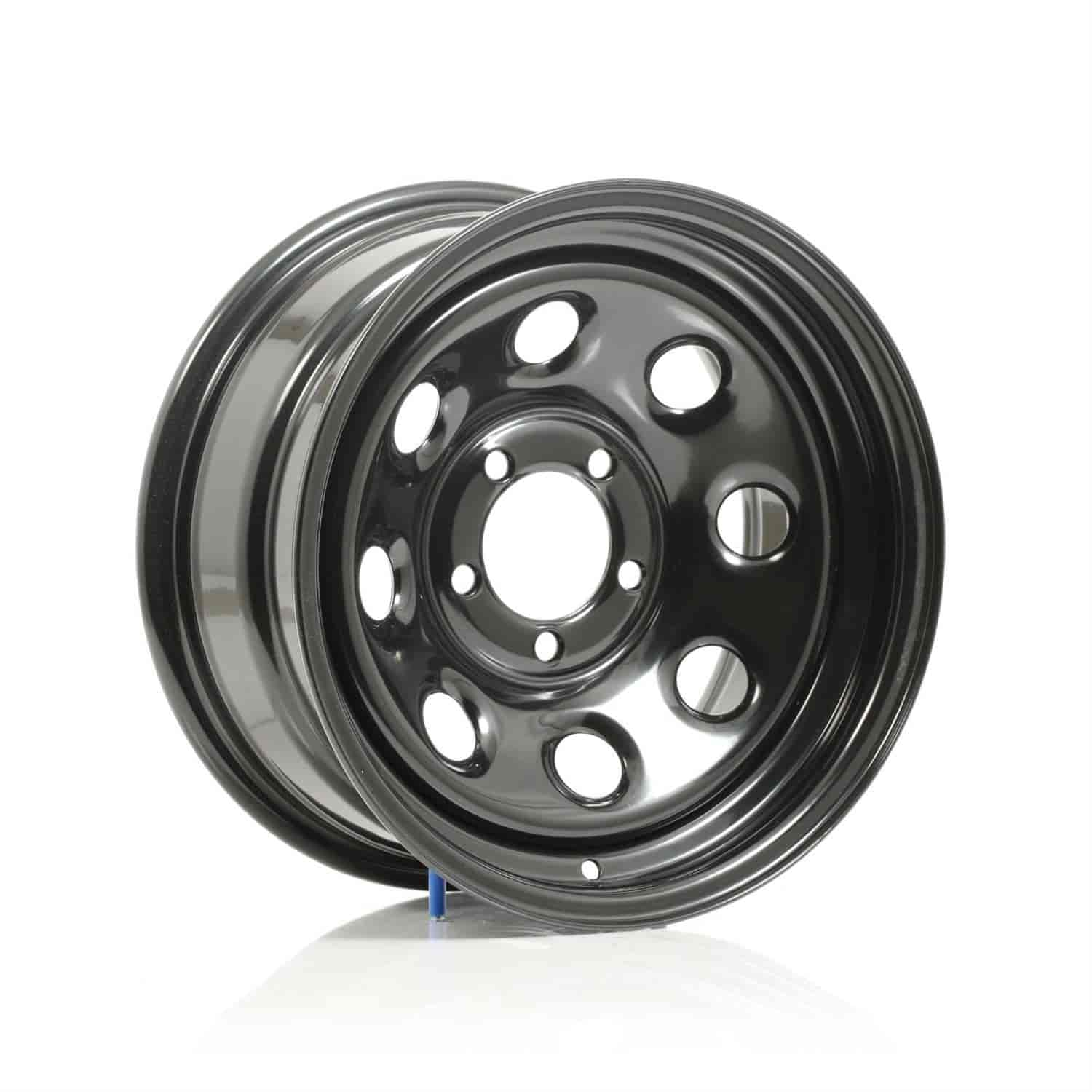 Cragar #3975855 - Cragar Black Soft 8 Wheels
