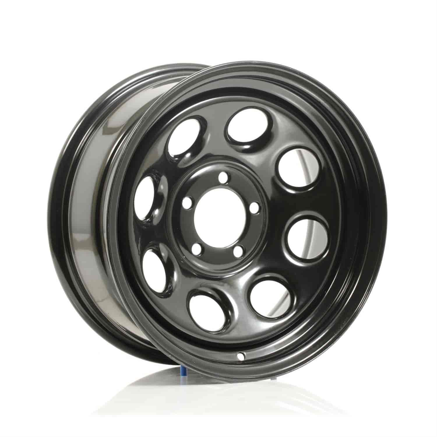 Cragar 3977735 - Cragar Black Soft 8 Wheels