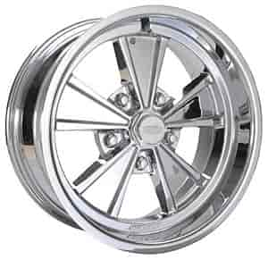 Cragar 500C575042 - Cragar 500C Eliminator Series Chrome Wheels