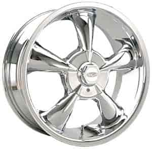 Cragar 600C7741+40 - Cragar 600C Series S/S Chrome FWD Wheels
