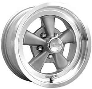 Cragar 610G775042 - Cragar 610G Series S/S Gray RWD Wheels