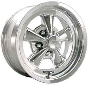 Cragar 610P785045 - Cragar 610P Series S/S Polished RWD Wheels