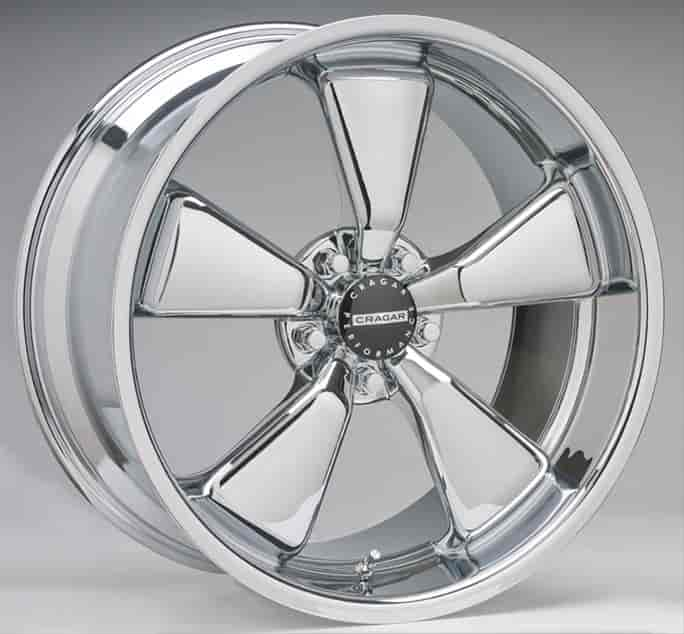 Cragar 617C08520J28 - Cragar Modern Muscle 617 Series Chrome Wheels