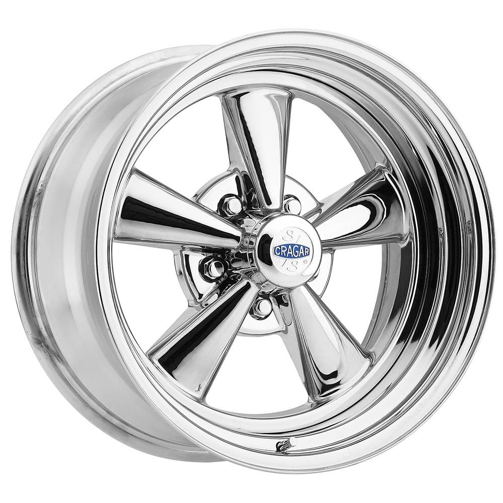 Cragar 61c513442 61c Ss Direct Drill Chrome Wheel Size 15 X 10