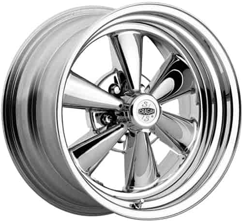 S 6 Spoke Chrome Wheel Size 17 X 7