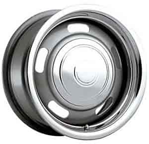 Cragar 3445705P - Cragar Silver Rally Wheels