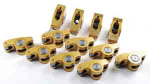 Crane Cams 10758-12 - Crane Cams Gold Race Roller Rocker Arms
