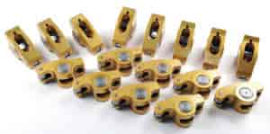 Crane Cams 36759-16 - Crane Cams Gold Race Roller Rocker Arms