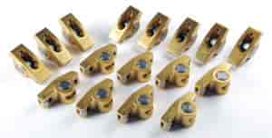 Crane Cams 10750-16 - Crane Cams Gold Race Roller Rocker Arms