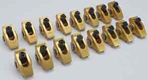 Crane Cams 11750-16 - Crane Cams Gold Race Roller Rocker Arms