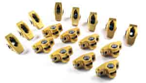 Crane Cams 11759-16 - Crane Cams Gold Race Roller Rocker Arms