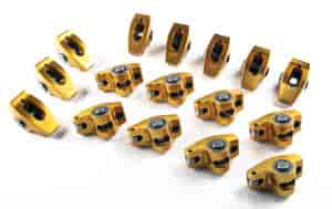Crane Cams 10758-16 - Crane Cams Gold Race Roller Rocker Arms